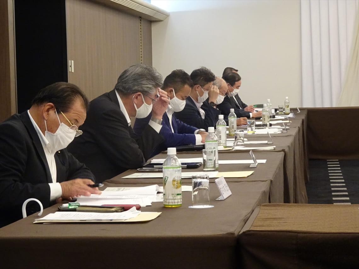 県内各業界団体との政策懇談会 (R3.5.15・16・22・23 盛岡市内)
